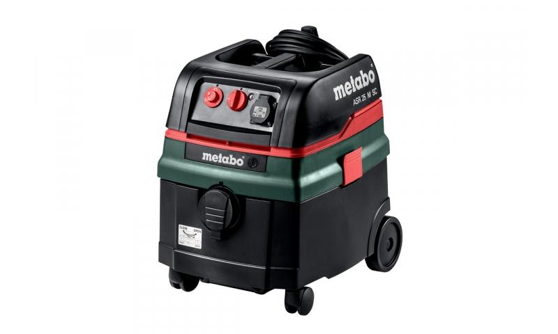 Metabo ASR25L SC 110v Wet & Dry Vacuum Dust Extractor (L CLASS)