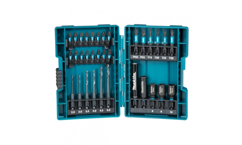Makita 33Pcs Impact Black Set (B-66896)