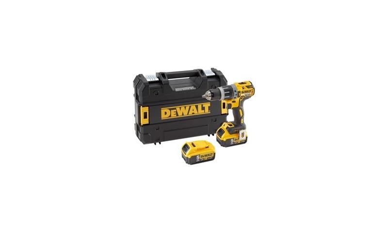 Dewalt DCD796P2 Combi Drill 18V XR Brushless Compact Lithium-Ion (2 x 5.0Ah Batteries)