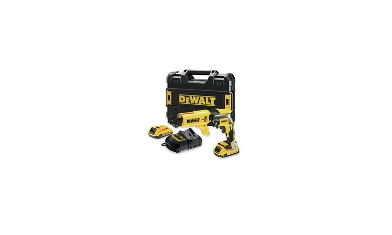 DeWalt DCF620D2 18V XR Brushless Drywall Screwdriver Kit with 2 x 2.0Ah Batteries