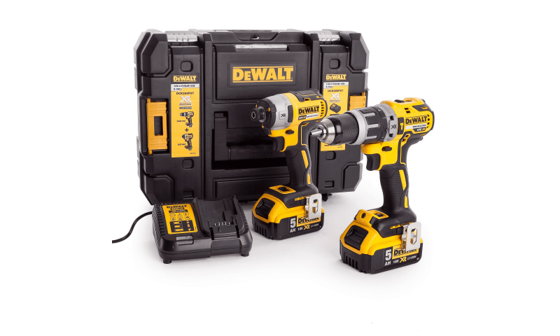 DeWalt DCK266P2 18V XR Brushless Combi Drill and Impact Driver Twin Kit