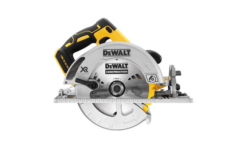 DEWALT DCS572N-XJ 18 Volt XR Cordless Rail Compatible Circular Saw Body Only