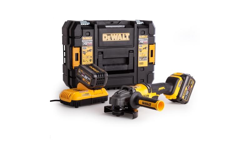 Dewalt Dcg414T2 54v Flex Volt Grinder 2 X 6AMP BATT