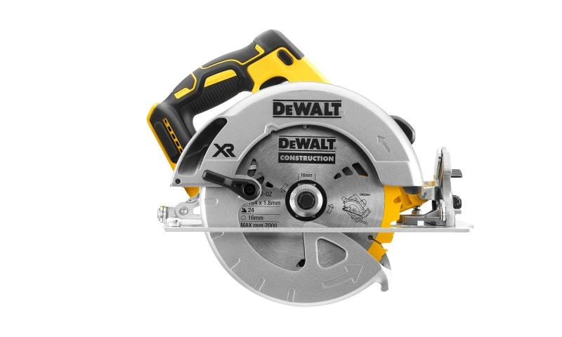 DeWalt DCS570M2 18V XR Brushless 184mm Circular Saw With 2 x 4.0Ah Batteries