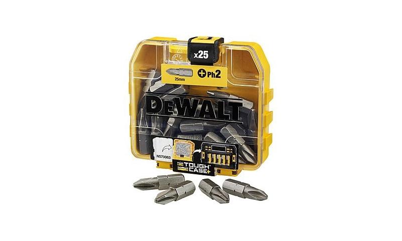 DeWalt DT71522 Pack of 25 PH2 x 25mm Screwdriver Bits