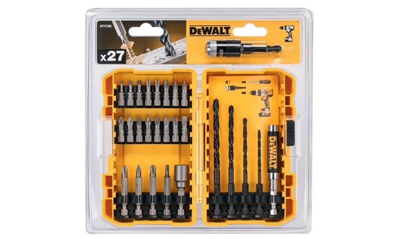 DeWALT DT71700-QZ 27pce Drill and Screwdriver Bits set in plastic case