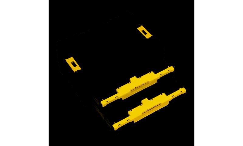 DEWALT DWST1-70706 TSTAK IV TOOL STORAGE BOX WITH 2X SHALLOW DRAWERS