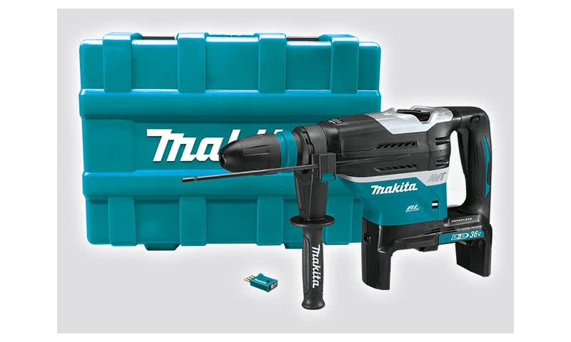 Makita DHR400 Twin 18v Brushless Rotary Demolition Hammer Body Only