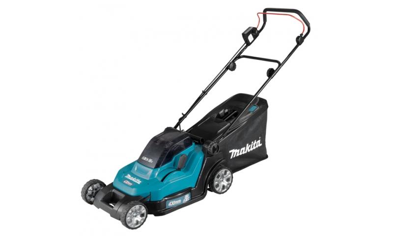 Makita DLM432Z Twin 18V/36V LXT Cordless 43cm Lawn Mower (Body Only)