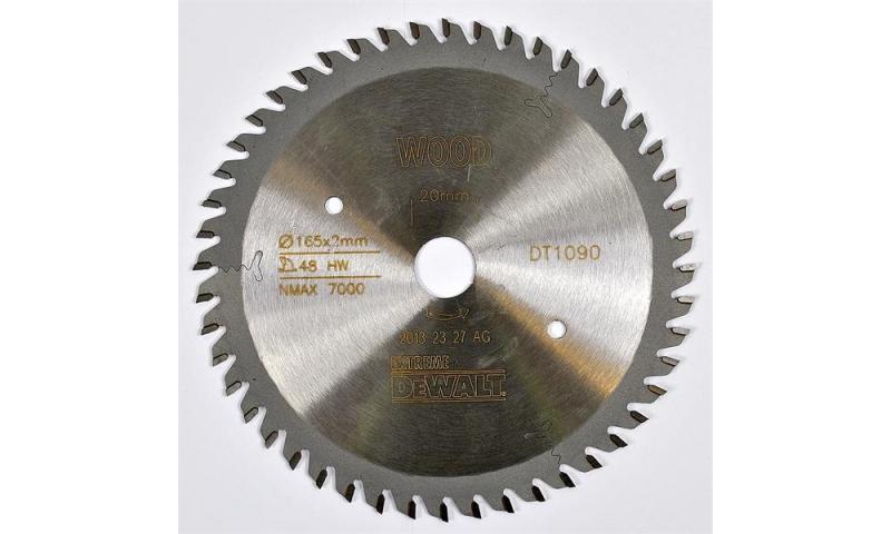 Dewalt 165mm x 20mm x 48T Plunge Saw Blade -(DT1090)