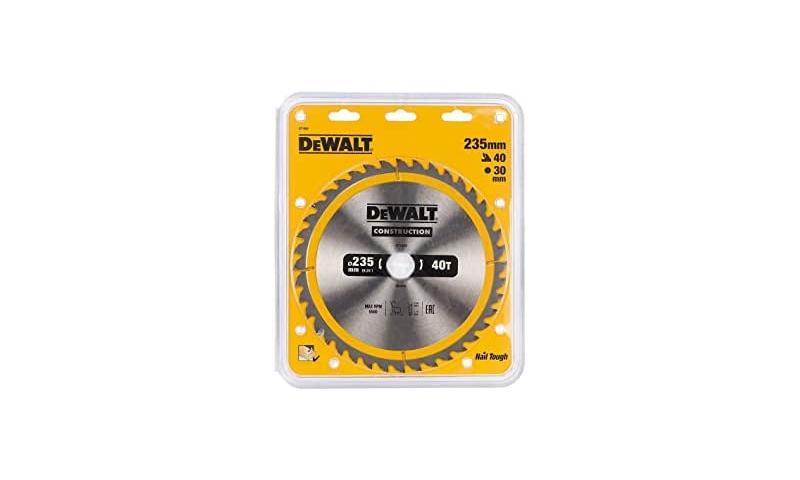 Dewalt 235mmx30mm x 40 teeth Tct Saw Blade (Dt1955-qz)