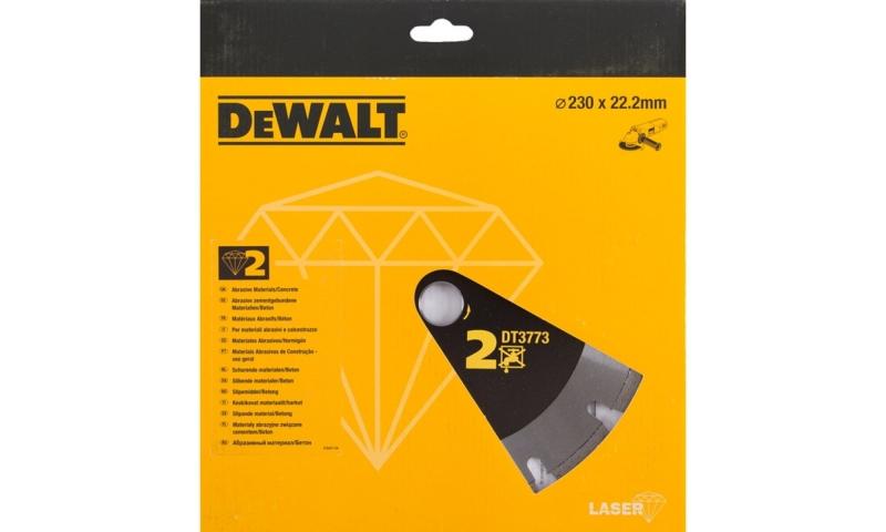 DEWALT DT3738 230MM TILE CUTTING SINTERED DIAMOND BLADE