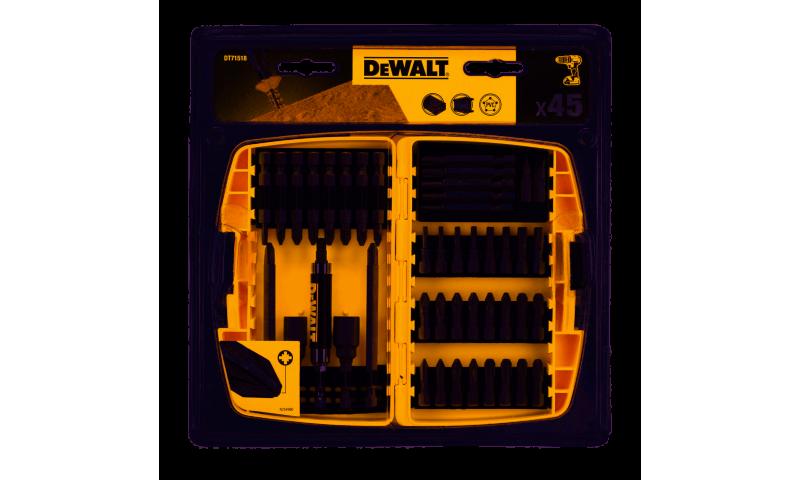 DEWALT DT71702-QZ 45PC SCREWDRIVING BIT SET