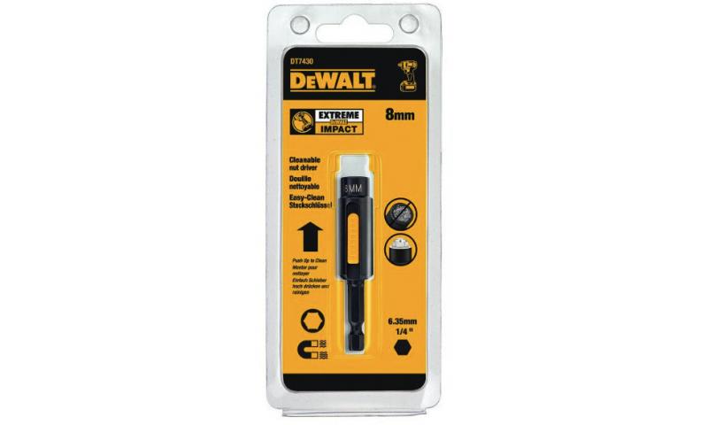 DEWALT DT7430-QZ 8mm Impact Ready Cleanable Nut Driver