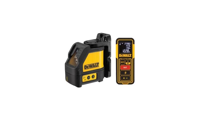 DeWalt Green Cross Line Laser DW0889CG XJ + DW099E Laser Rangefinder